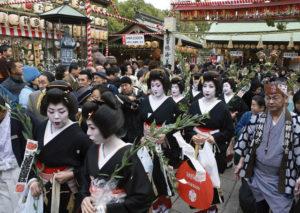 徒歩詣り 写真提供:福岡市