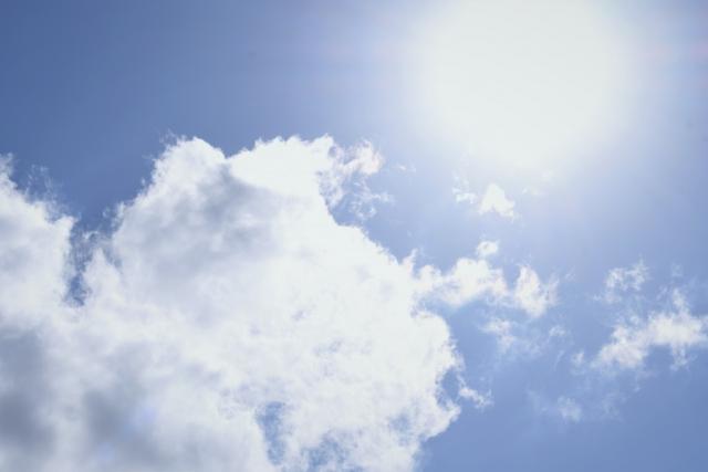 土潤溽暑 つちうるおうてむしあつし 日射