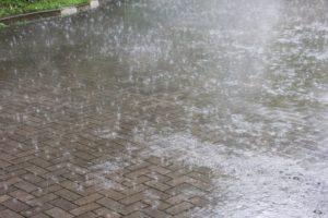 大雨時行 たいうときどきふる