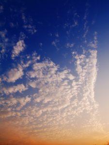 鱗雲 鰯雲