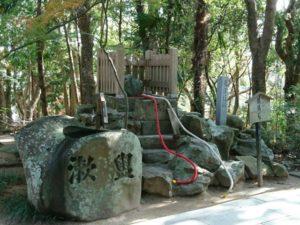 鶺鴒石 おのころ島神社 縁結び 淡路島